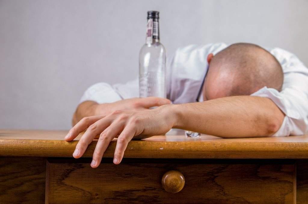 alcohol drunk man
